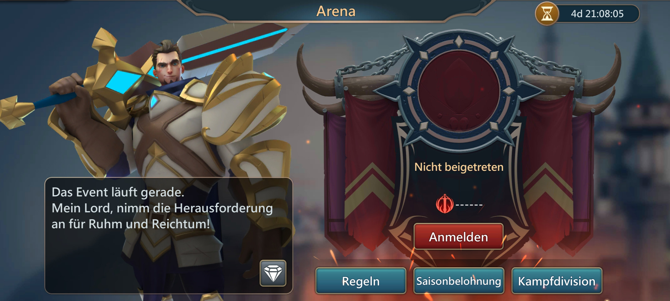 Mobile Royale Arena